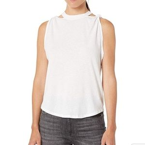 NWT Free People White The Twist Tank. Size S
